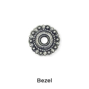 Bezel only (decorative washer with screw)