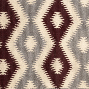 Burgundy/Gray Navajo (BACKORDERED)