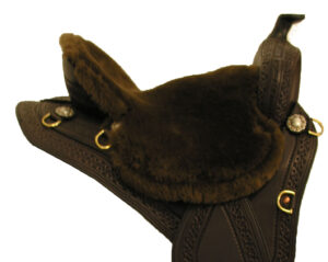 TW Saddlery Custom Fit Fleece Seat