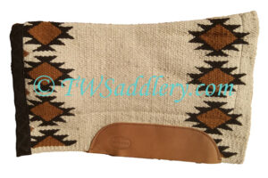 Contoured Navajo Cream/Black
