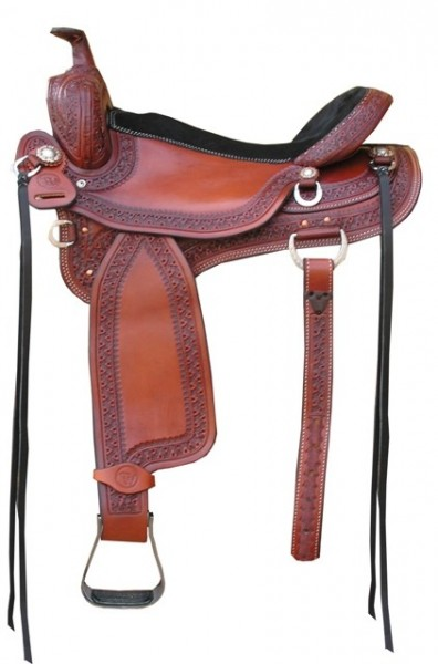 TW Saddlery Dark Oil Ranch Versatility