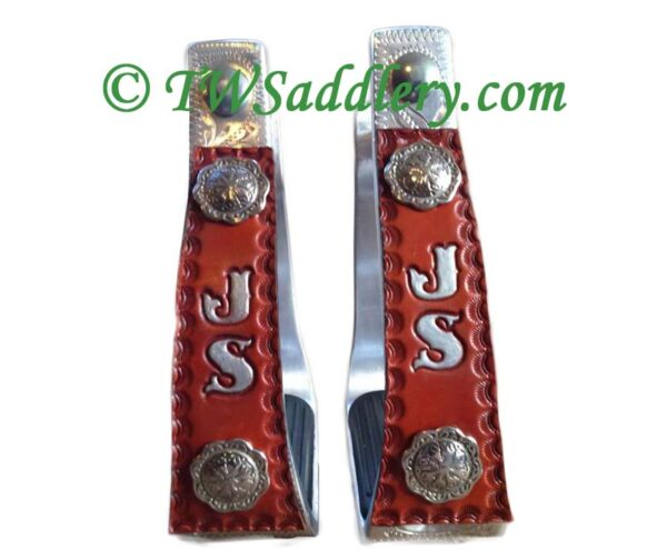 Custom Western Stirrups TW Saddlery