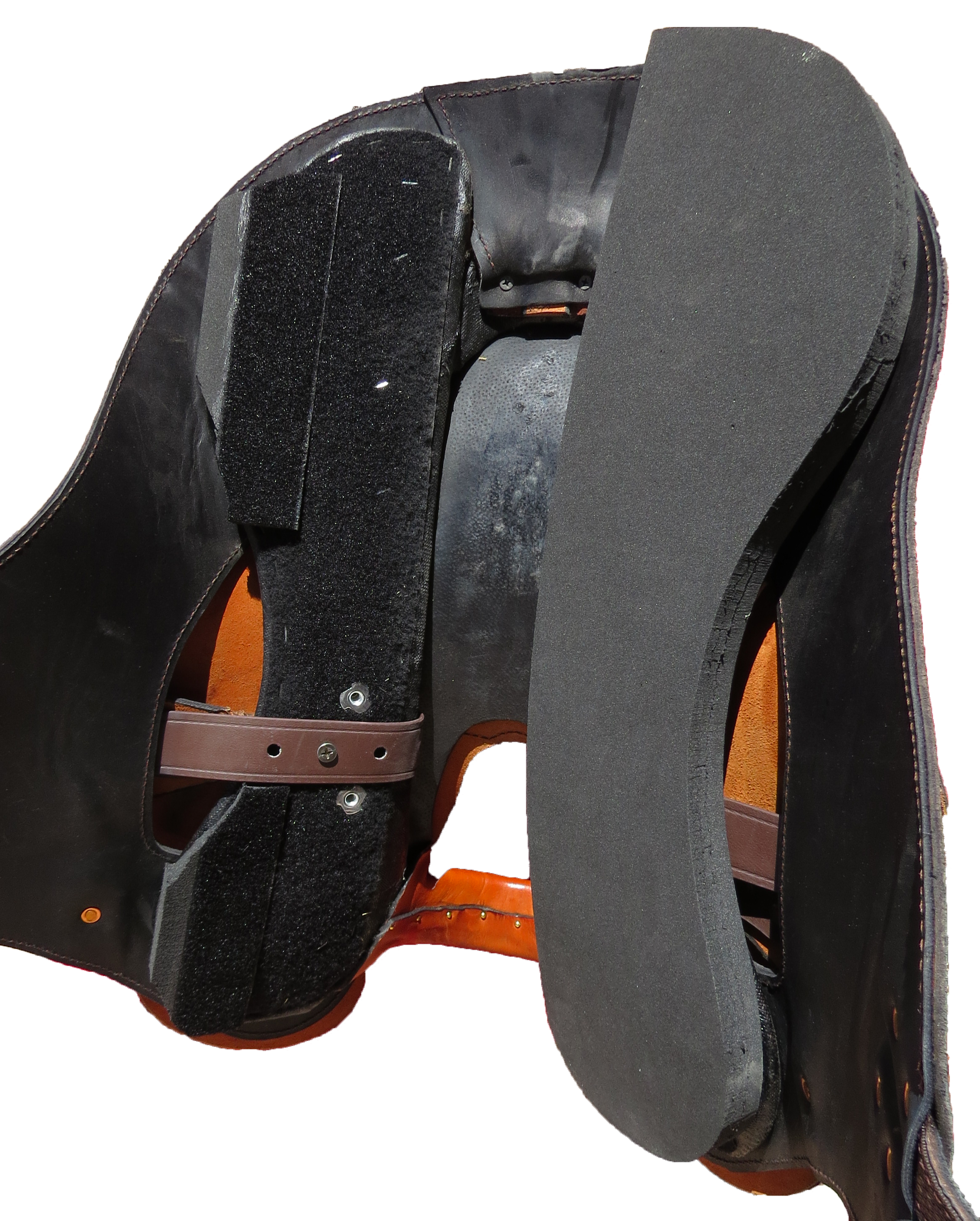 3-D Saddle Fitting System - Underside