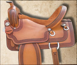 TW Saddlery Mounted Shooting Saddle
