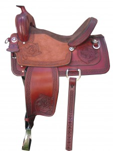 TW Saddlery Shooter Saddle