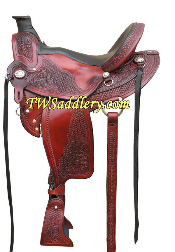 TW Saddlery Dark Oil Classic Wade