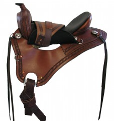 Western Drop Dee Leather