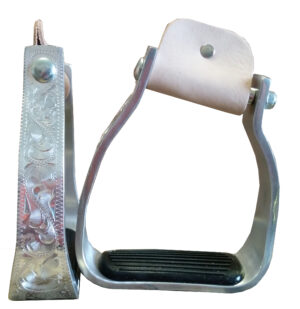 TW Saddlery Off Set Aluminum Stirrups