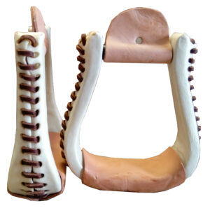 Rawhide Wrapped Stirrups