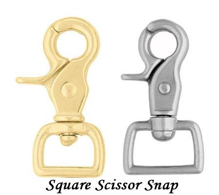 Square Scissor Snap