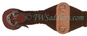 TW Saddlery Leather Cinch Guards