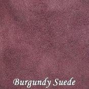 Burgundy Suede