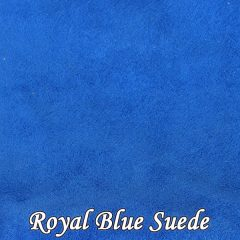 Royal Blue Suede