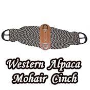 Western Alpaca Mohair Twist Cinch